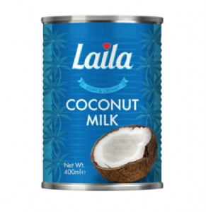 Light Coconut Milk (Reduced Fat) by Laila | Buy Online at the Asian Cookshop.